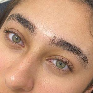 Eyebrow Wax Before