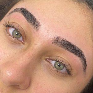 Eyebrow Wax After