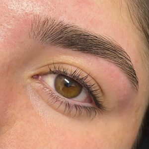 Eyebrow Shaping After