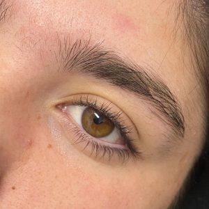 Eyebrow Shaping Before